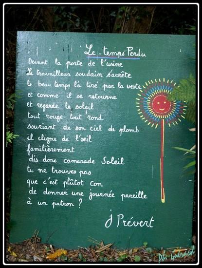 Jacques Prévert (1900-1977) Surréalisme  jardin10a