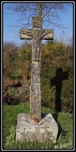 Croix située au hameau de Herville
