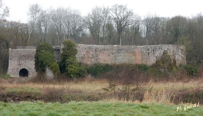 Ruine des Fours à Chaux de la Roque-Genest
