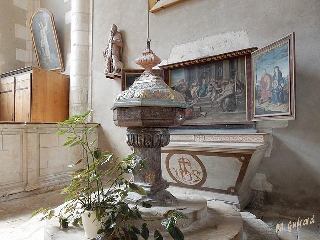 Chaource fonds baptismaux