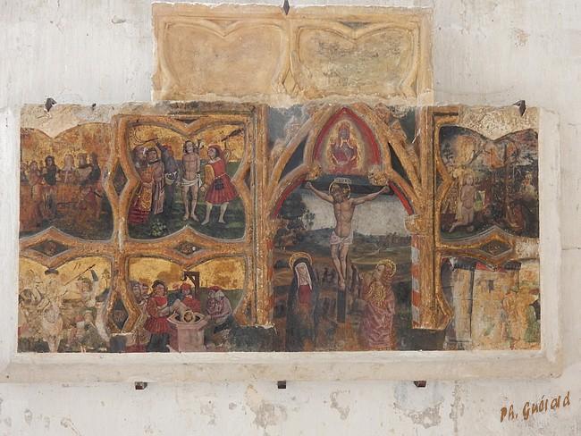 Chaource retable du XVème siècle
