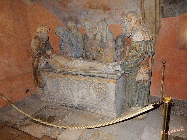 Chaource, mise au tombeau 1515