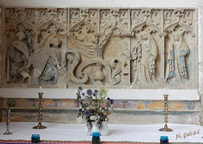 Chaource, retable du XVème siècle