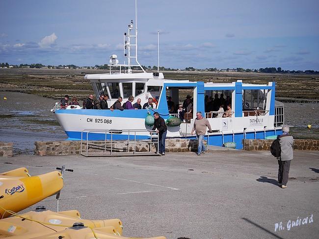 Accostage du bateau