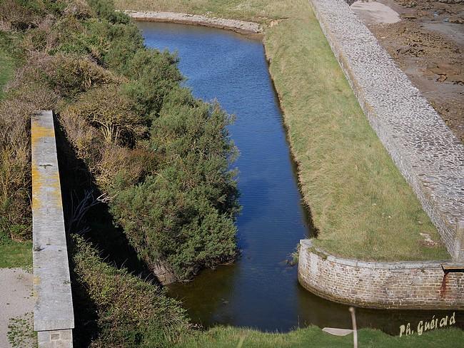 Petite partie des douves du fort