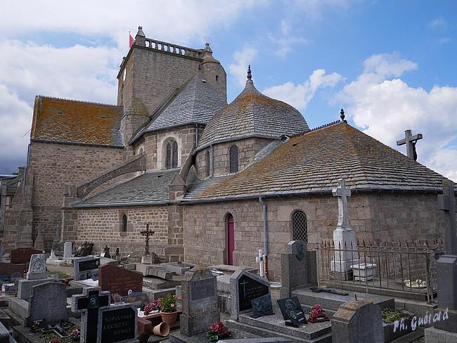 Extérieur église de Barfleur