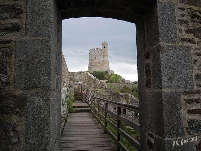 Vue de la tour Vauban