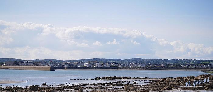 St-Vaast à l'horizon