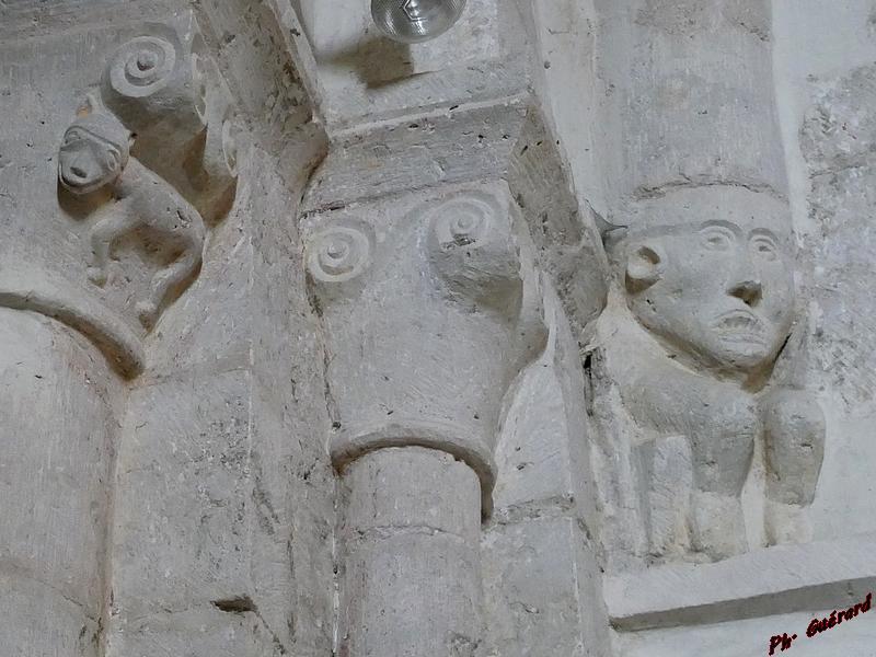 Culots sculptés église de Tollevast