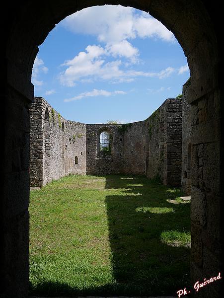 Église en ruine de Rideauville