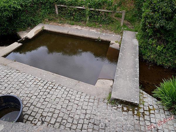 Lavoir à Vauville