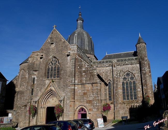 Vue de l'église Abbatiale de St-Sever-Calvados