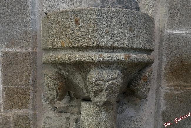 intérieur de l'église abbatiale de St-Sever-Calvados