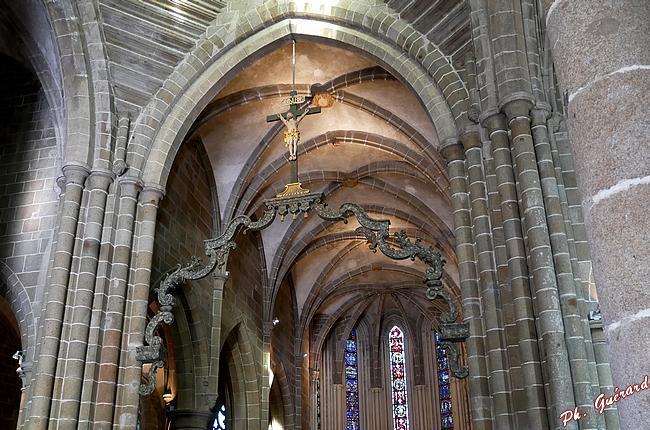 Perque de l'église abbatiale de St-Sever-Calvados