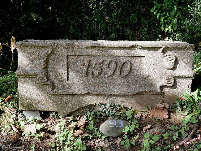 Fronton de 1590