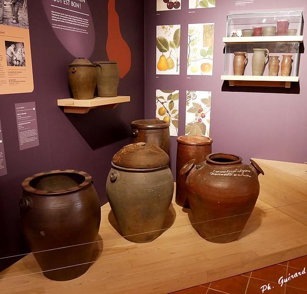 Différent types de pots