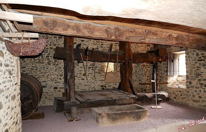 Pressoir Abbaye d'Hambye