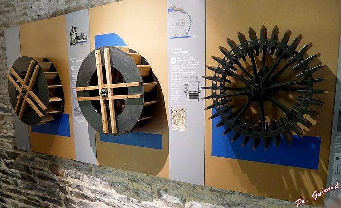 Différents types de roues à aube