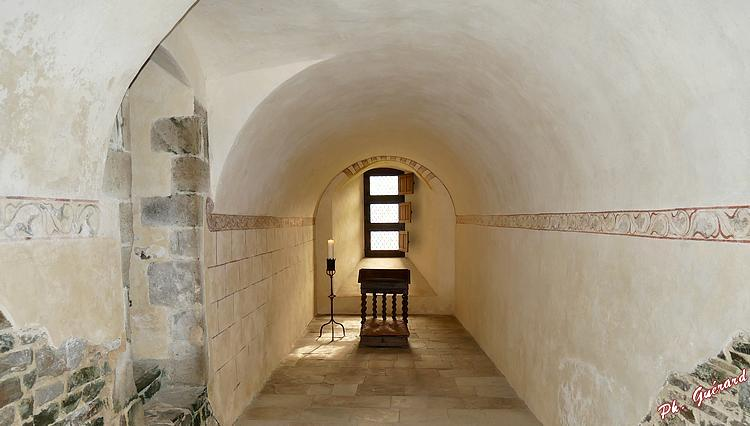 Sacristie de l'Abbaye d'Hambye