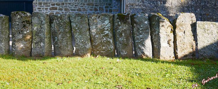 Palissade en granit