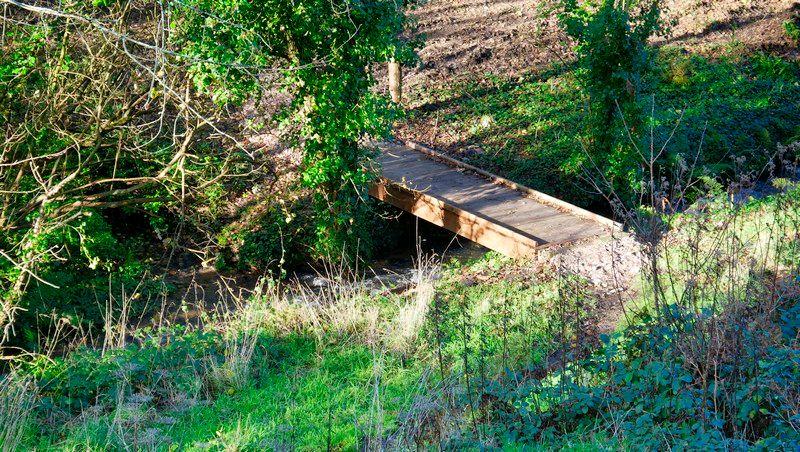 Petit pont sur la Vallace