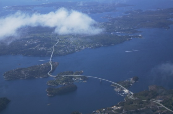 arrivée Bergen
