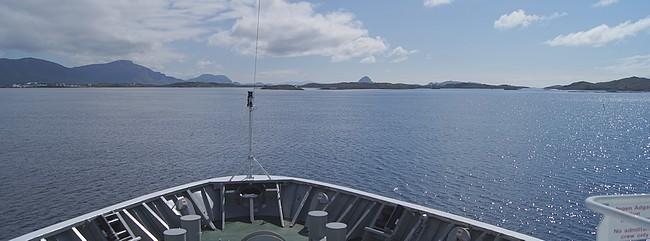 Arrivée Bronnoysund