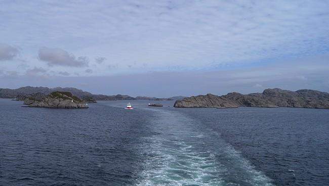 Navigation au milieu des îlots