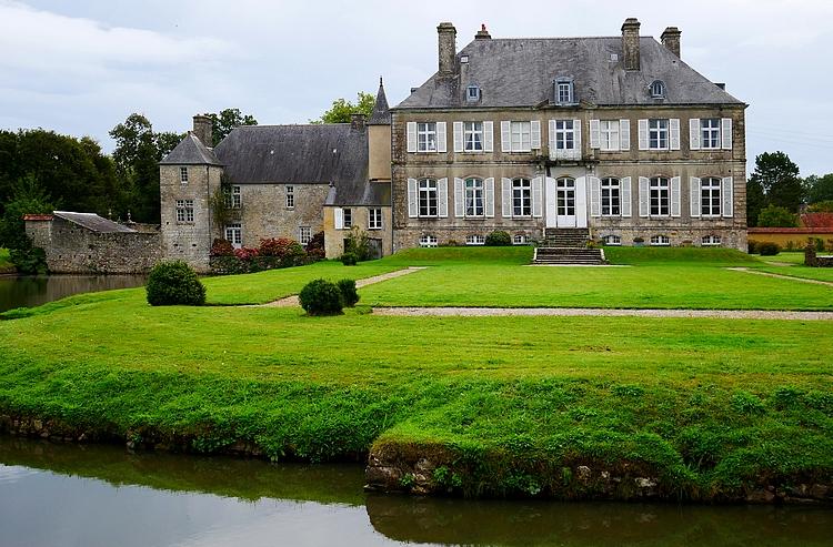 château de la Bretonnière, vue arrière