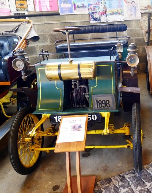Euregah type voiturette 1898