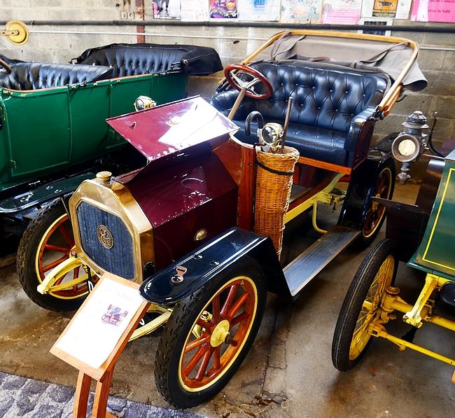 Le Zèbre type A 1909